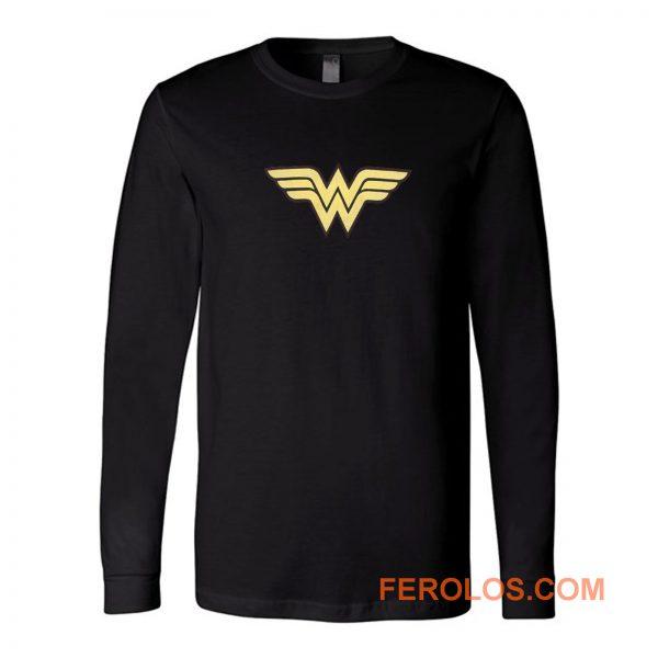 Super Hero Girl Logo Wonder Women Long Sleeve