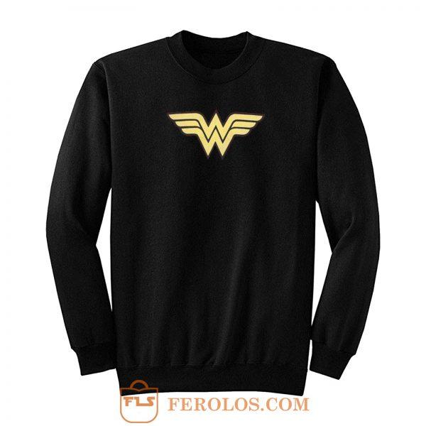 Super Hero Girl Logo Wonder Women Sweatshirt