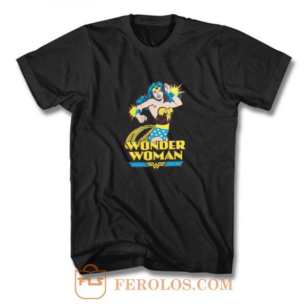 Super Hero Girl Retro Wonder Woman T Shirt