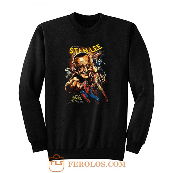 Superhero Stan Lee Sweatshirt