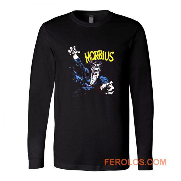 Superhero Vampire Villains Morbius Long Sleeve