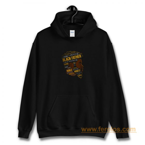 Supportive Loving Black Father Hoodie