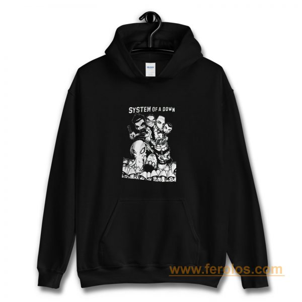 System Of A Down Hard Rock Band Hoodie