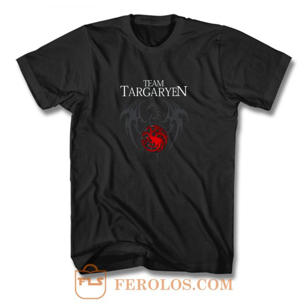Team Targaryen Dragon T Shirt