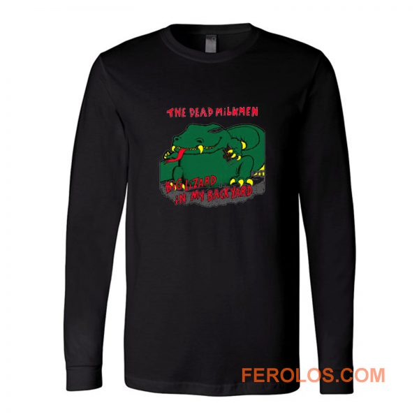 The Dead Milkmen Biglizard Band Long Sleeve