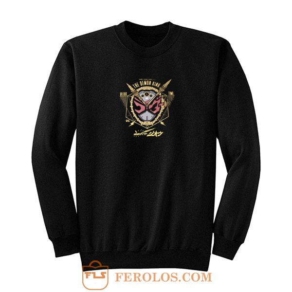 The Demon King Bless Time Kamen Rider Sweatshirt