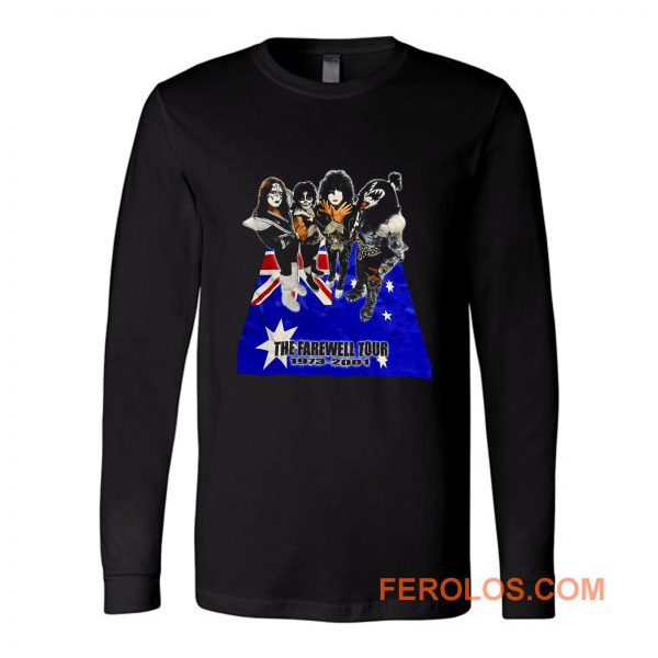 The Farewall Tour Kiss Long Sleeve