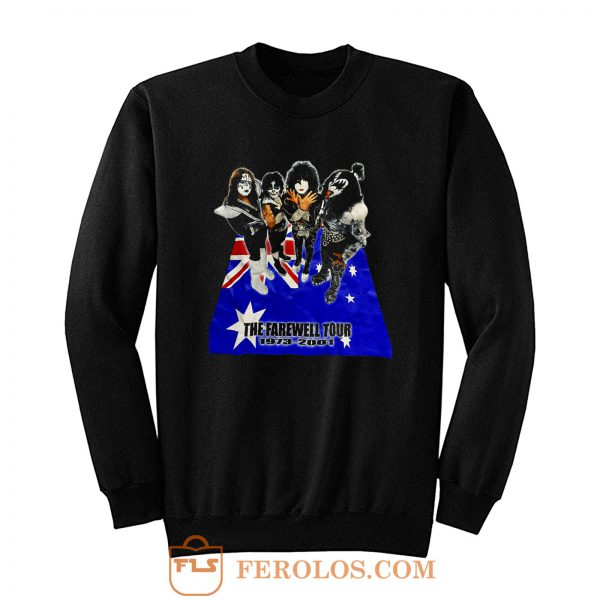 The Farewall Tour Kiss Sweatshirt