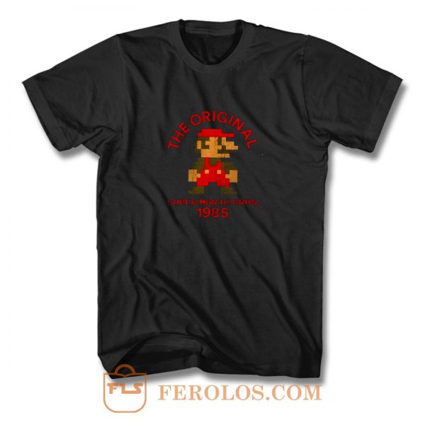 The Original Super Mario Nintendo Old But Cool T Shirt