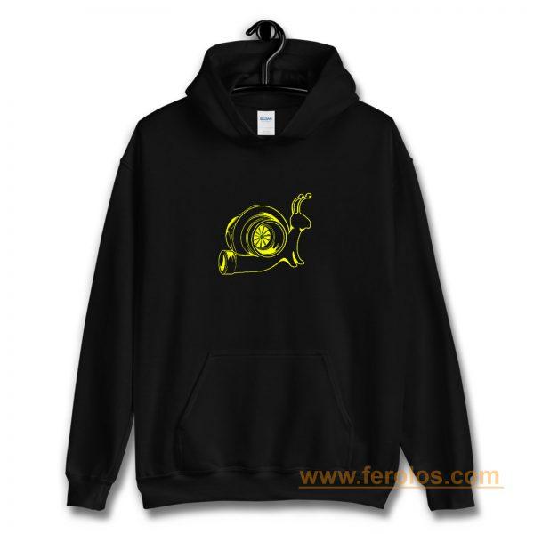The Turbo Snail Funny Humor Racing Speed Hoodie