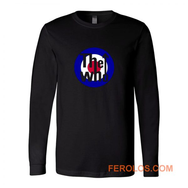 The Who Band Music Long Sleeve