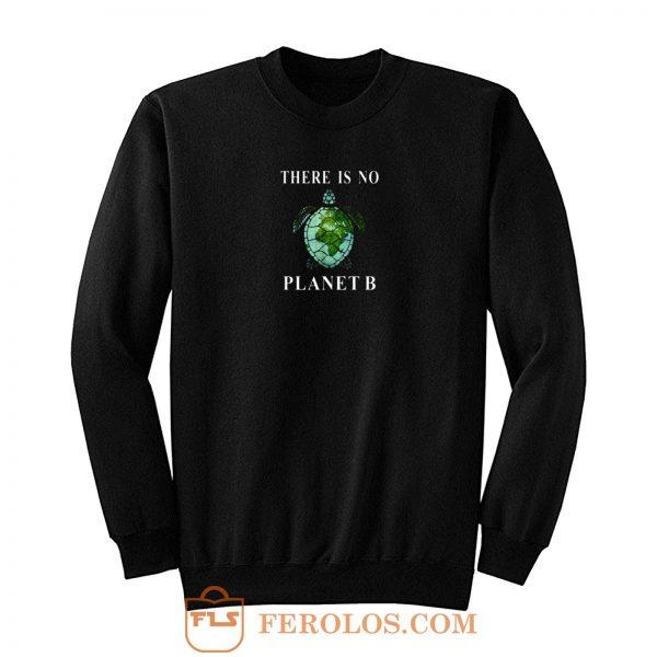There Is No Planet B Turtle Sweatshirt