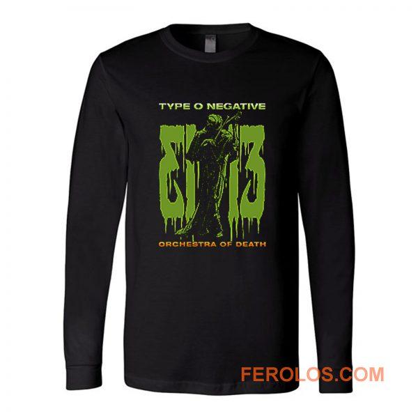 Type O Negative Band Long Sleeve