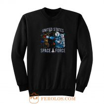 United States Cats Space Force Sweatshirt