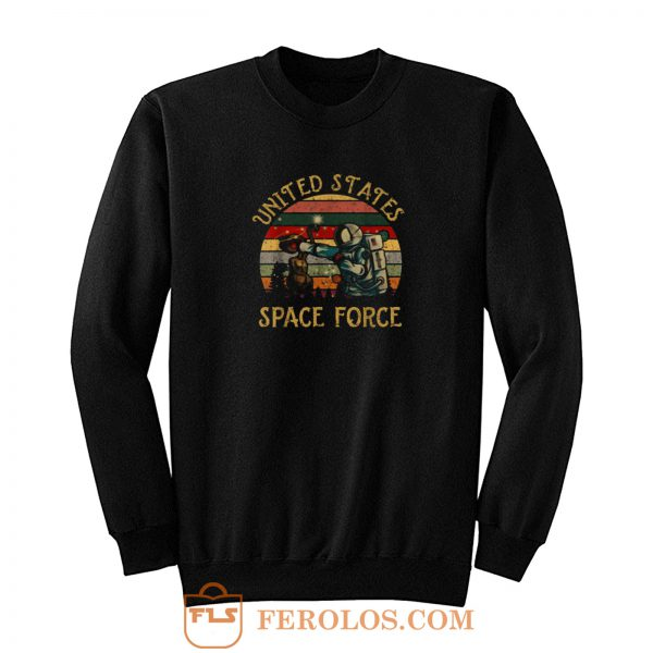 United States Vintage Space Force Sweatshirt