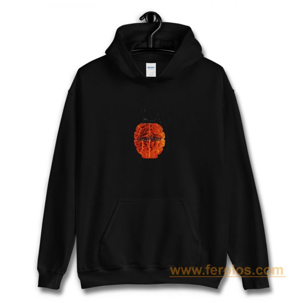 Use Your Brains Clawfinger Metal Band Hoodie