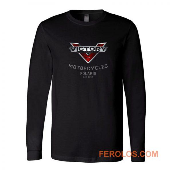 Victory Motorcycle Logo Long Sleeve