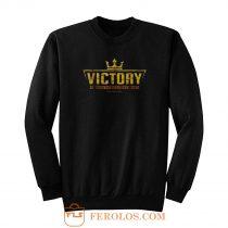 Victory Motorcycle Logo Vintage Sweatshirt