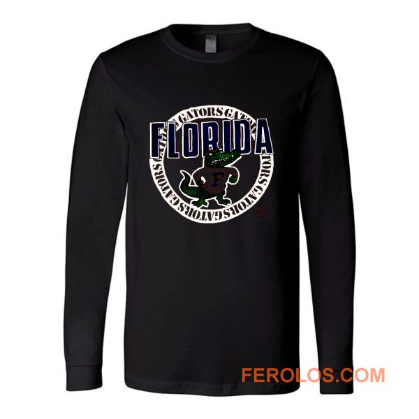 Vintage Florida Gators Single Stitch Jerzees Long Sleeve