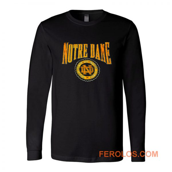 Vintage University Of Notre Dame Long Sleeve