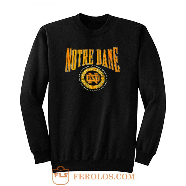 Vintage University Of Notre Dame Sweatshirt