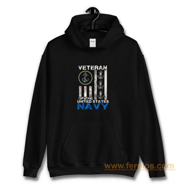Vintage Veteran Us Navy Hoodie
