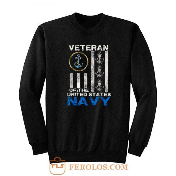 Vintage Veteran Us Navy Sweatshirt
