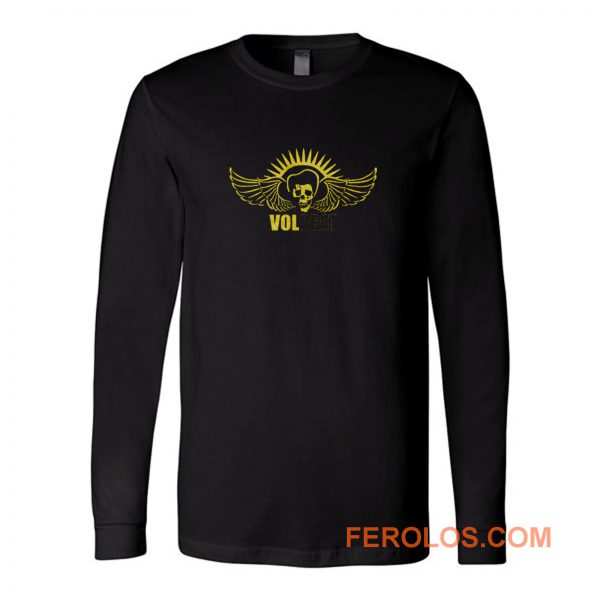Volbeat Angelic Skull Logo Long Sleeve