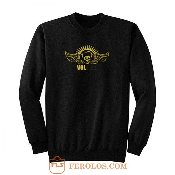 Volbeat Angelic Skull Logo Sweatshirt