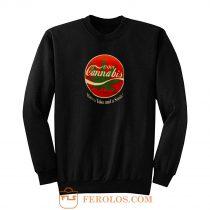 Weed Marijuana Enjoy Cannabis Sweatshirt