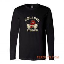 Weed Marijuana Rolling Stoned Pot Long Sleeve