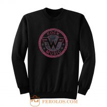 Weezer Logo Retro Rock Music Sweatshirt