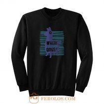 Where We Landing Boys Funny Fortnite Games Sweatshirt