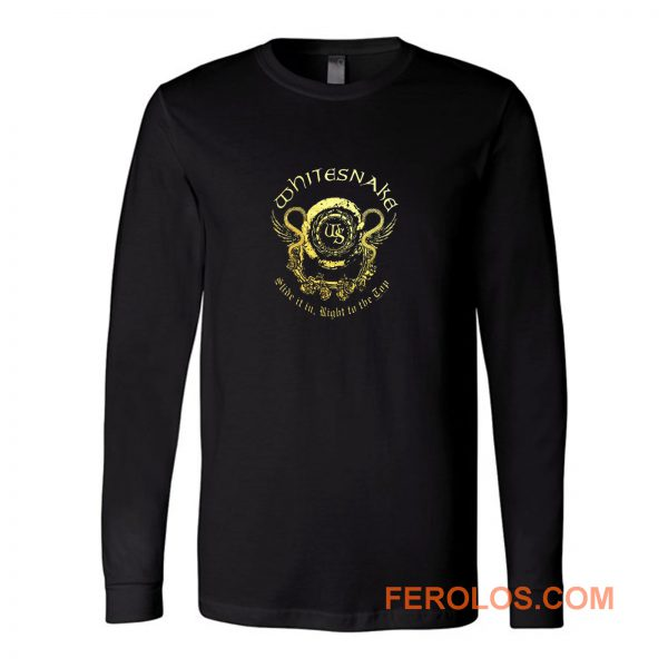 Whitesnake Long Sleeve