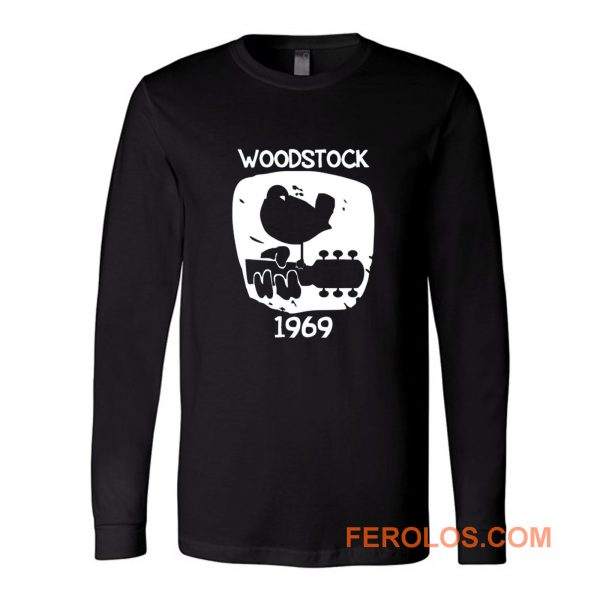 Woodstock 1969 Vintage Long Sleeve