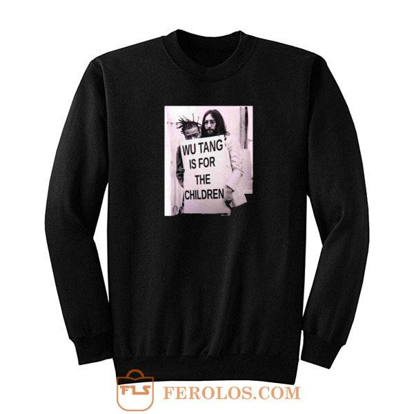 Wu Tang Is For Children John Lennon Sweatshirt