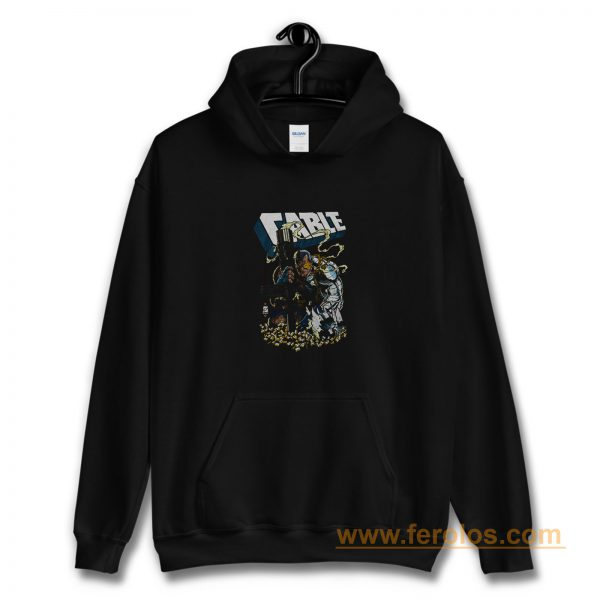 Xmen Cable Shell Casings Marvel Comics Hoodie