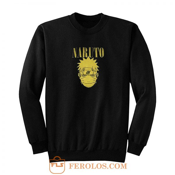 Yellow Naruto Shippuden Anime Sweatshirt