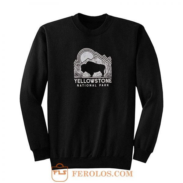 Yellow Stone National Park Sweatshirt