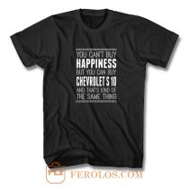 You Cant Buy Happines Car Lover T Shirt