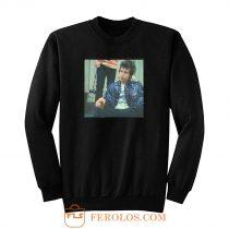Young Bob Dylan Sweatshirt