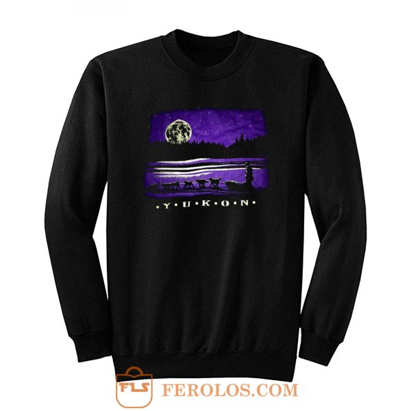 Yukon Canada Wilderness Sweatshirt
