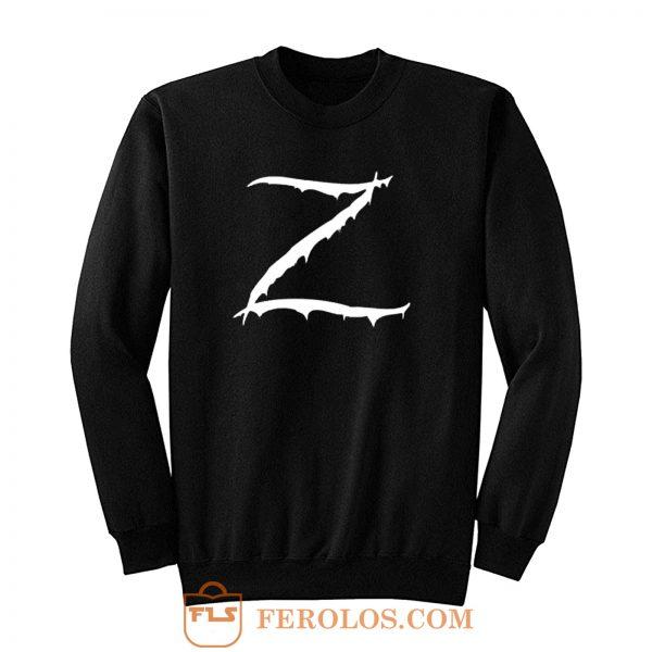Z Logo Zorro Classic Vintage Sweatshirt