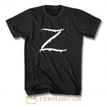 Z Logo Zorro Classic Vintage T Shirt