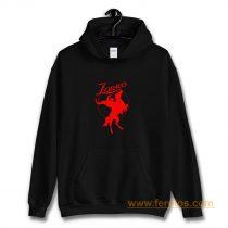 Zorro Red Horse Movie Character Hoodie