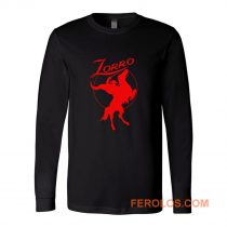 Zorro Red Horse Movie Character Long Sleeve