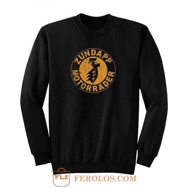 Zundapp Motorrader Sweatshirt