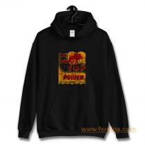 Zz Top Oil Power Band Hoodie