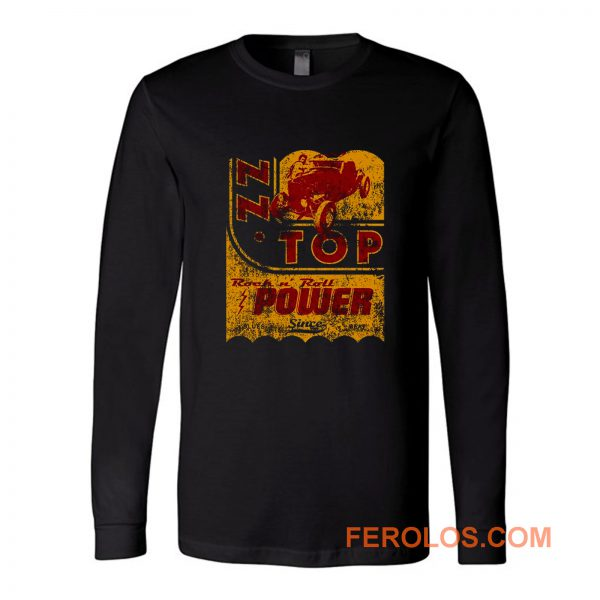 Zz Top Oil Power Band Long Sleeve