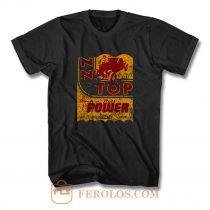Zz Top Oil Power Band T Shirt